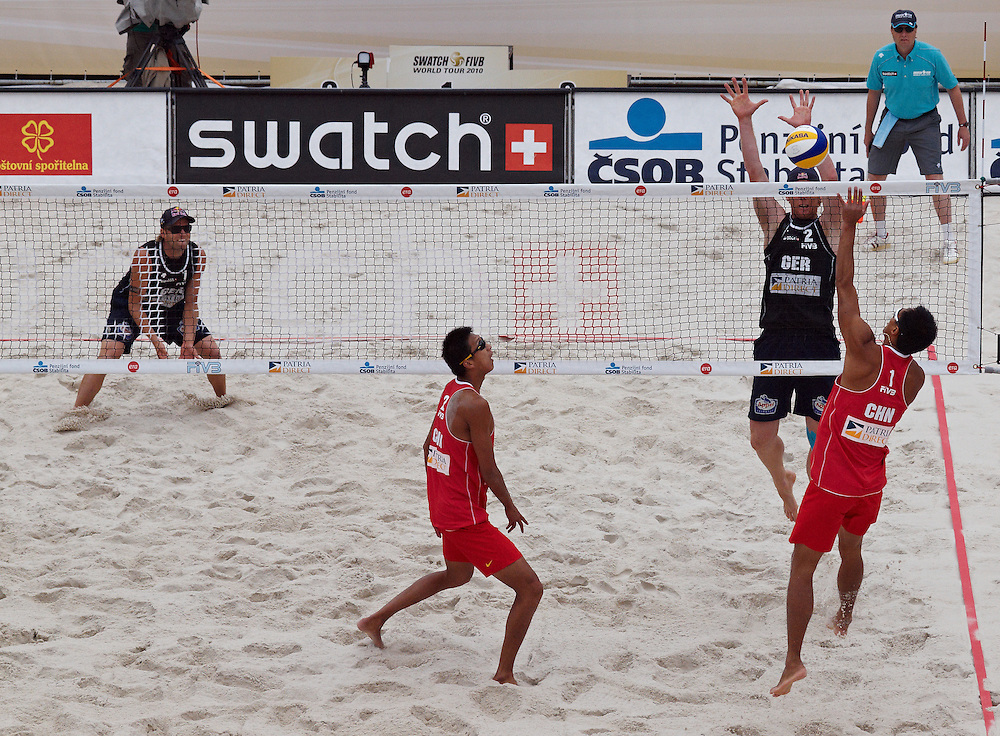 Swatch FIVB Patria Direct Open 2010 - GER vs CHN