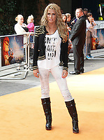 Katie Price The Lion King 3D - UK film premiere, BFI IMAX, Waterloo, London, UK. 25 September 2011 Contact: Rich@Piqtured.com +44(0)7941 079620 (Picture by Richard Goldschmidt)