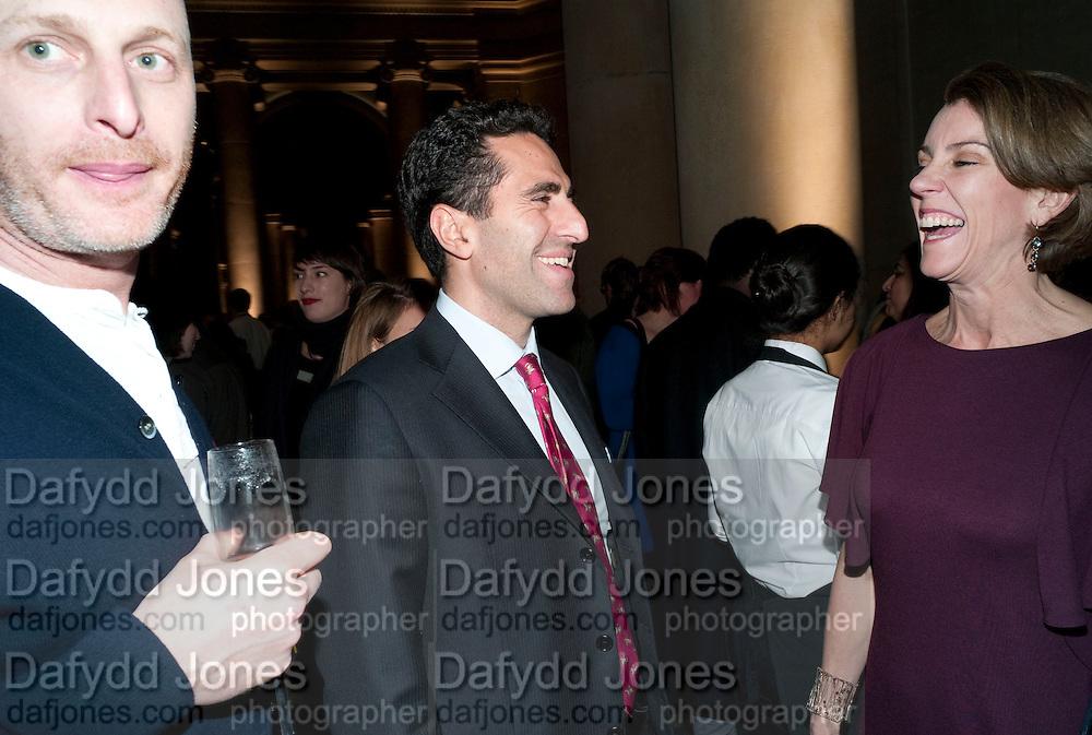 DANIEL SILVER; AMIR SHARIAT, Turner Prize 2010. Tate Britain. Millbank. London. 6 December 2010. -DO NOT ARCHIVE-© Copyright Photograph by Dafydd Jones. 248 Clapham Rd. London SW9 0PZ. Tel 0207 820 0771. www.dafjones.com.