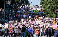 Women's March in Los Angeles 2018