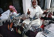 Selling daggars, Najran market