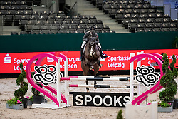 WOLF Charlie Ann (GER), Staedtebahn's Longines<br /> Leipzig - Partner Pferd 2019<br /> SPOOKS-Amateur Trophy<br /> Small Tour<br /> 18. Januar 2019<br /> © www.sportfotos-lafrentz.de/Stefan Lafrentz