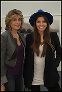 MARYAM SACHS; ROYA SACHS, Opening of Frieze art Fair. London. 14 October 2014