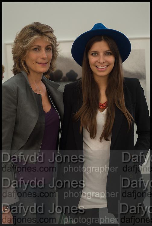 MARYAM SACHS; ROYA SACHS, Opening of Frieze art Fair. London. 14 October 2014