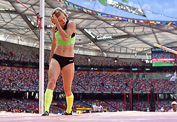 24-08-2015 CHN: IAAF World Championships Athletics day 3, Beijing<br /> Pole vault with 	Tina Sutej SLO<br /> Photo by Ronald Hoogendoorn / Sportida