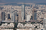 Aerial Photography of Tel Aviv, Israel