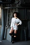 Roma 29 Marzo 2011.Centrale Montemartini.Presentato Flashdance il Musical, lo spettacolo tratto dal film culto degli anni  80..Marta Belloni