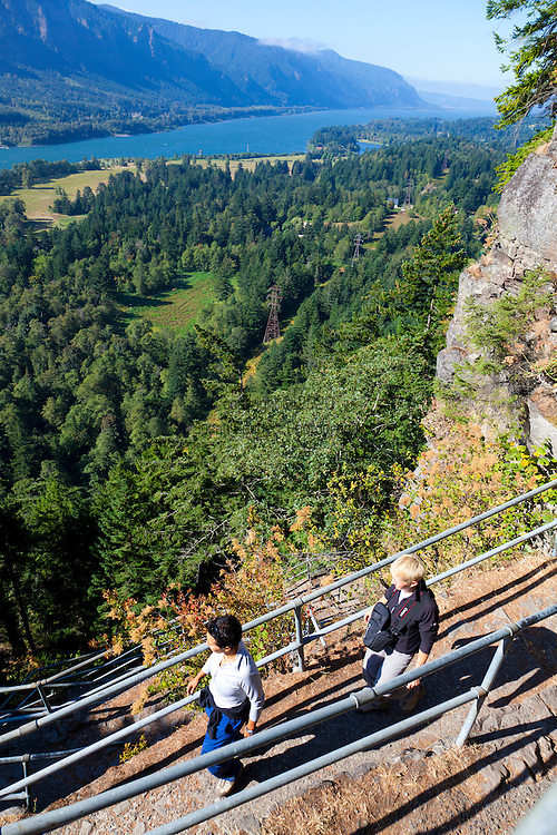Beacon Rock State Park in Washington's Columbia River Gorge