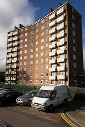 Council housing. Love Lane estate, Haringey, London UK