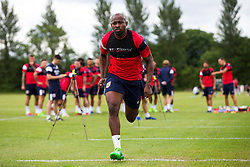 Arnold Garita in action as Bristol City return for pre-season training ahead of the 2017/18 Sky Bet Championship Season - Rogan/JMP - 30/06/2017 - Failand Training Ground - Bristol, England - Bristol City Training.