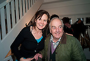 CHARLOTTE BALCKER AND HER FATHER, The Way We Wore.- Photographs of parties in the 70's by Nick Ashley. Sladmore Contemporary. Bruton Place. London. 13 January 2010.<br /> CHARLOTTE BALCKER AND HER FATHER, The Way We Wore.- Photographs of parties in the 70's by Nick Ashley. Sladmore Contemporary. Bruton Place. London. 13 January 2010. *** Local Caption *** -DO NOT ARCHIVE-© Copyright Photograph by Dafydd Jones. 248 Clapham Rd. London SW9 0PZ. Tel 0207 820 0771. www.dafjones.com.