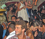 **EXCLUSIVE**.Stavros Niarchos partying with Janet at Les Caves du Roy in St. Stropez, France..Thursday, July 13, 2007.Photo By Celebrityvibe.com.To license this image please call (212) 410 5354; or.Email: celebrityvibe@gmail.com ;