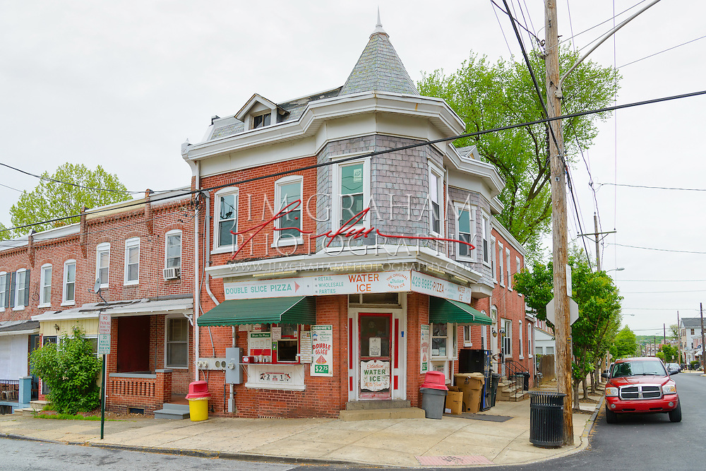 Bernie's Original Water Ice also called Double Slice at 1701 W. 8th St, Wilmington, De. Photograph by Jim Graham