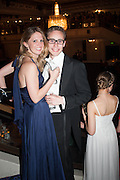 ALEX COLERIDGE; DAVINA COLLAS The Royal Caledonian Ball 2013. The Great Room, Grosvenor House. Park lane. London. 3 May 2013.