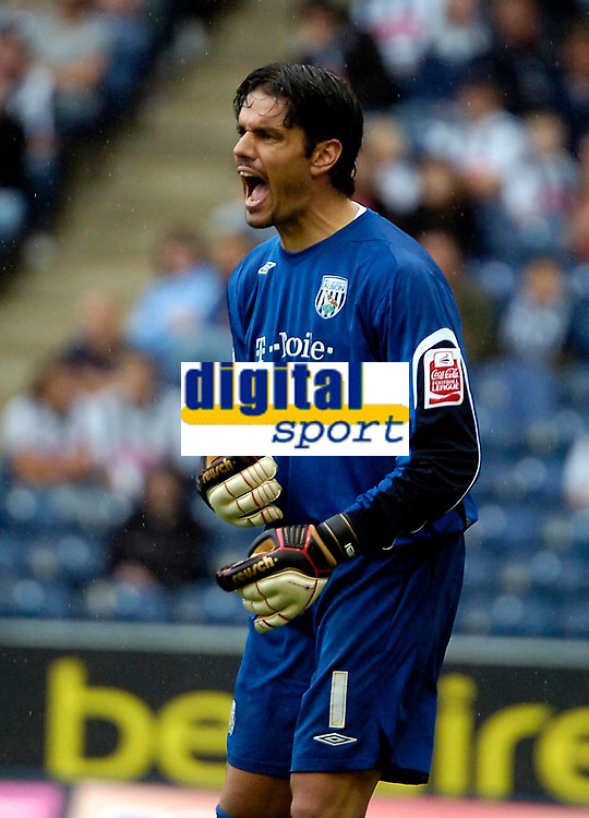 Photo: Ed Godden.<br />West Bromwich Albion v Colchester United. Coca Cola Championship. 19/08/2006. Albion keeper Pascal Zuberbuhler.