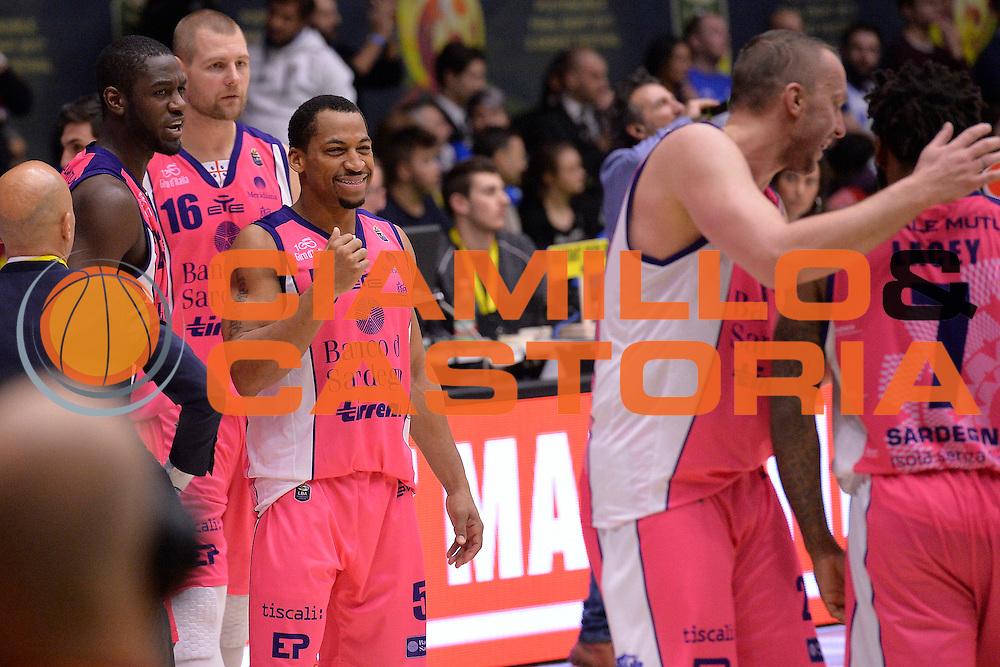 Bell David <br /> Banco di Sardegna Sassari vs Basket Leonessa Brescia<br /> Poste Mobile Final Eight F8 2017 <br /> Lega Basket 2016/2017<br /> Rimini, 18/02/2017<br /> Foto Ciamillo-Castoria / I.Mancini