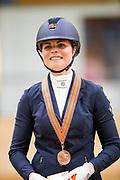 Mara de Vries<br /> KNHS Indoorkampioenschappen 2019<br /> © DigiShots