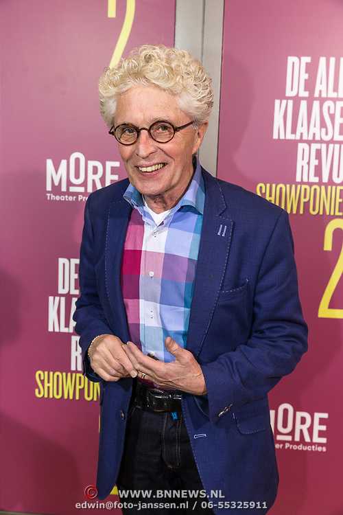 NLD/Amsterdam/20191007 - Premiere van De Alex Klaasen Revue - Showponies 2, Jaques d' Ancona