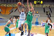ATENE 23 AGOSTO 2011<br /> BASKET TORNEO ACROPOLIS<br /> ITALIA BULGARIA<br /> NELLA FOTO HACKETT<br /> FOTO CIAMILLO
