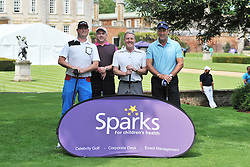 TEAM G.V. DECORATORS, Celebrity Chris Broad, Sparks Leon Haslam Golf Day Wellingborough Golf Course Tuesday 7th June 2016