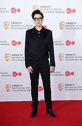 Sue Perkins in the press room at the Virgin TV British Academy Television Awards 2017 held at Festival Hall at Southbank Centre, London. PRESS ASSOCIATION Photo. Picture date: Sunday May 14, 2017. See PA story SHOWBIZ Bafta. Photo credit should read: Ian West/PA Wire