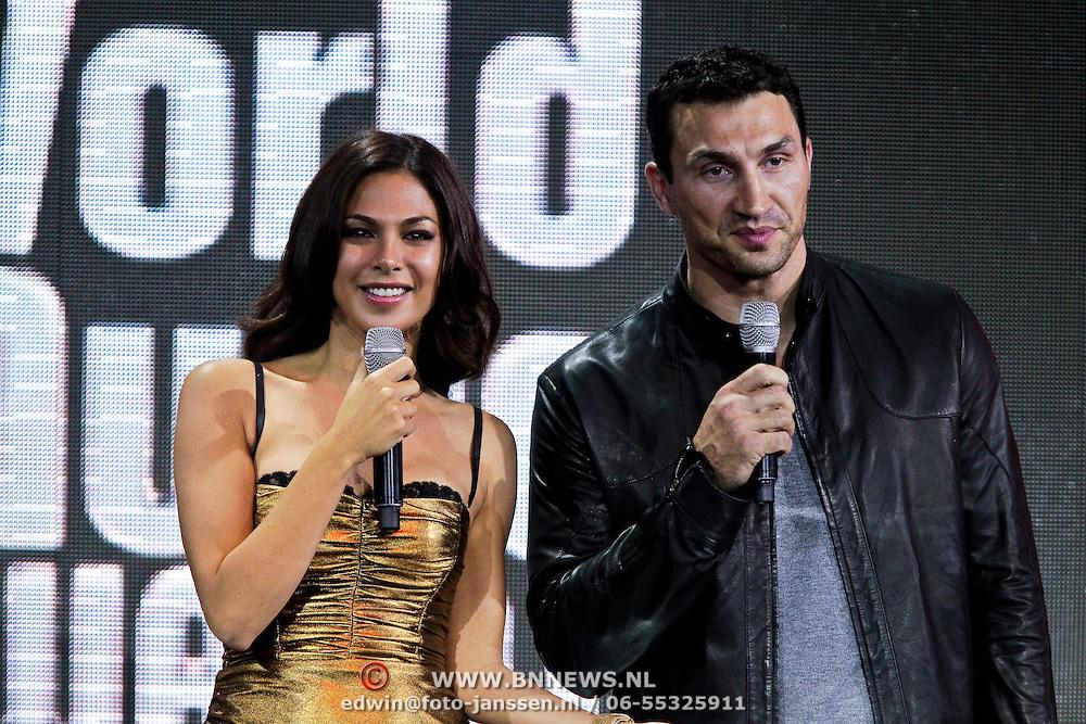 MON/Monte Carlo/20100512 - World Music Awards 2010, Moran Atias en Wladimir Klitshko