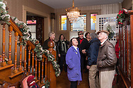 Goshen, New York - The house at 155 South Church Street was one of the homes featured on the Goshen Christmas House Tour on Dec. 3, 2016.  The event was a benefit for Catholic Charities Community Services and featured self-guided tours of eight private Goshen homes. The  house was built for the pastor of the Presbyterian Church and completed in 1887.