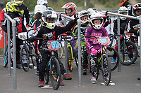Competitors in action during the Prudential RideLondon BMX Finals. Prudential RideLondon 28/07/2017<br /> <br /> Photo: Bob Martin/Silverhub for Prudential RideLondon<br /> <br /> Prudential RideLondon is the world&rsquo;s greatest festival of cycling, involving 100,000+ cyclists &ndash; from Olympic champions to a free family fun ride - riding in events over closed roads in London and Surrey over the weekend of 28th to 30th July 2017. <br /> <br /> See www.PrudentialRideLondon.co.uk for more.<br /> <br /> For further information: media@londonmarathonevents.co.uk