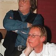 CD uitreiking Johan Hoogeboom, Jack Spijkerman en Eddy Ouwens