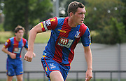 Connor Dymond in action during the U21 Professional Development League match between U21 Crystal Palace and U21 Bolton Wanderers at Selhurst Park, London, England on 17 August 2015. Photo by Michael Hulf.