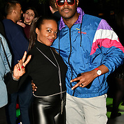 Corene Campbell and Alfie Carreira attend BBC Club at W12 Studios Lunch party on 14 March 2019, London, UK.