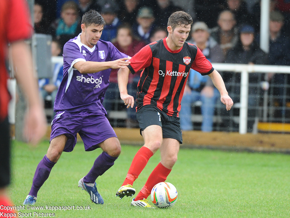 Jonathan Thorpe, Kettering, Kettering Town v Daventry Town Southern League Division One Central, 25th August 2014