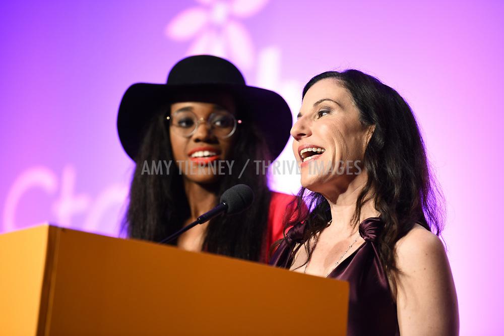Kalen Aubry Israel and Kaye Popofsky Kramer, Founder, Step Up Women's Network