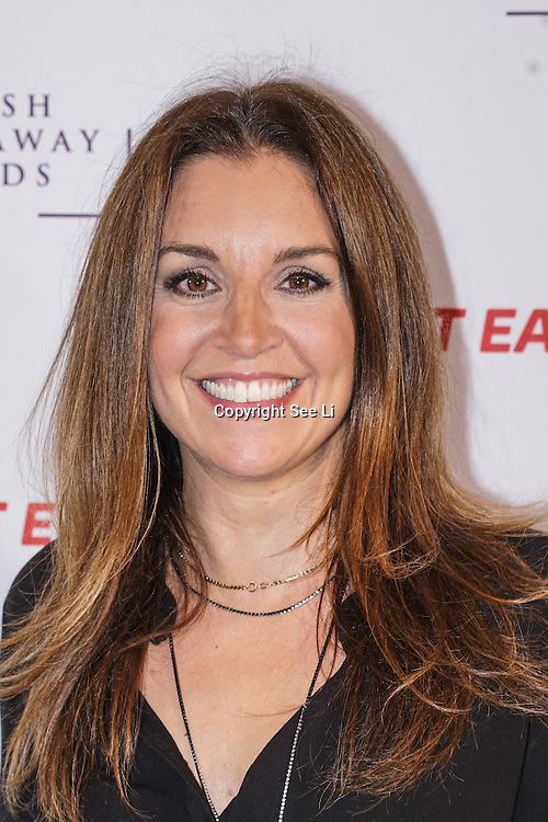 Sarah Willingham attends The British Takeaway Awards 2016, Monday 5th December at The Savoy in London,,UK. Photo by See Li