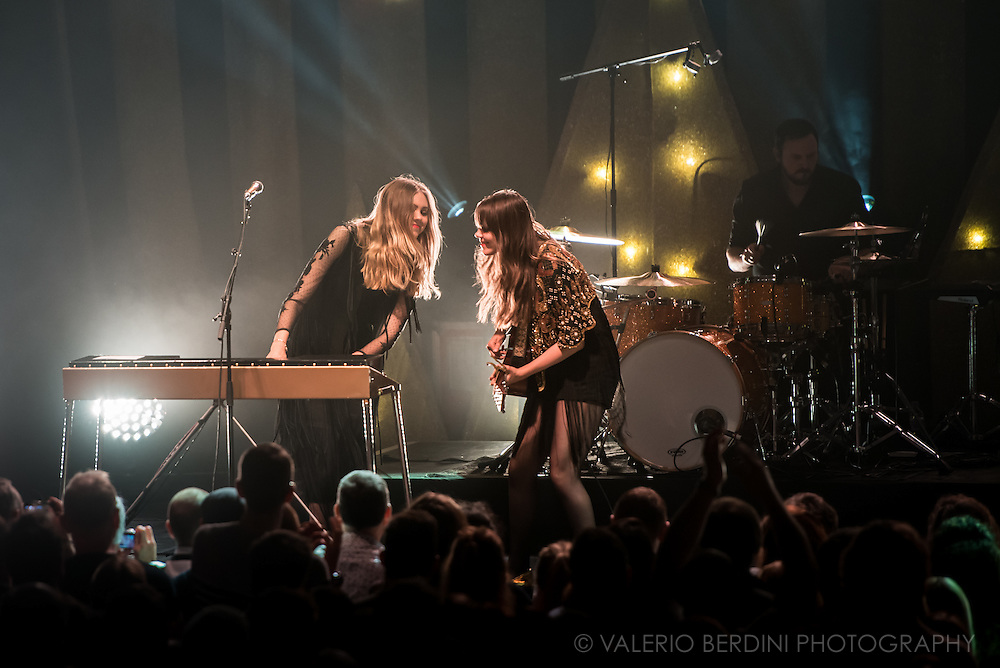 First Aid Kit playing live at the Cambridge Corn Exchange on 17 January 2015