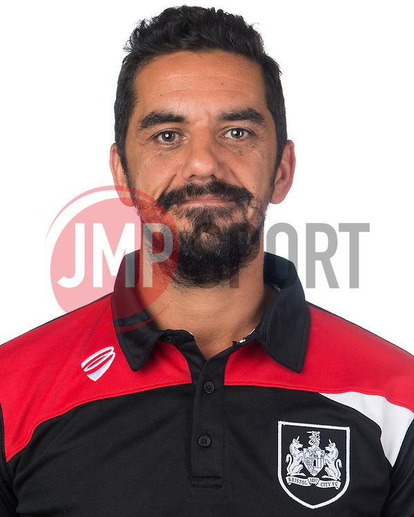 Bristol City kit man, Scott Murray  - Mandatory byline: Joe Meredith/JMP - 07966386802 - 04/08/2015 - FOOTBALL - Bristol City Training Ground -Bristol,England - Bristol City Headshots