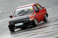 #35 Ron Loffstadt Ford Escort XR3i during Lee Bowron Ltd XR Challenge - Qualifiying  as part of the Easter Family Fun Day - Oulton Park Fosters at Oulton Park, Little Budworth, Cheshire, United Kingdom. March 28 2016. World Copyright Peter Taylor/PSP. Copy of publication required for printed pictures.  Every used picture is fee-liable. http://archive.petertaylor-photographic.co.uk