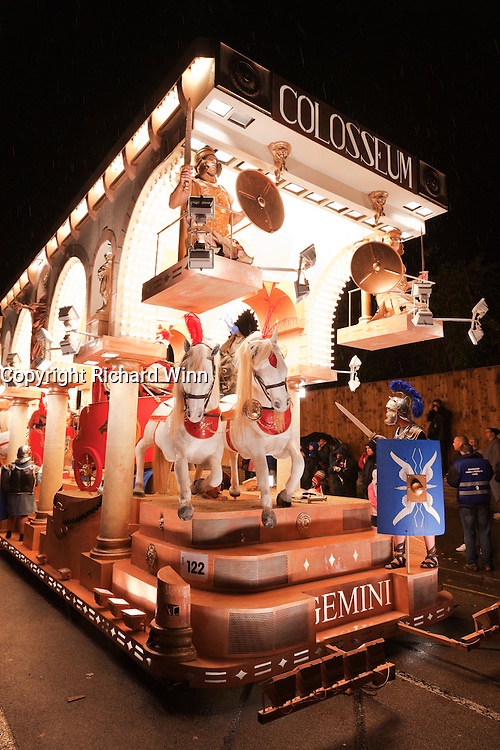 Colosseum by Gemini CC, at the 2010 Bridgwater Guy Fawkes Carnival.