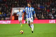 Ramadan Sobhi (14) of Huddersfield Town during the Premier League match between Bournemouth and Huddersfield Town at the Vitality Stadium, Bournemouth, England on 4 December 2018.