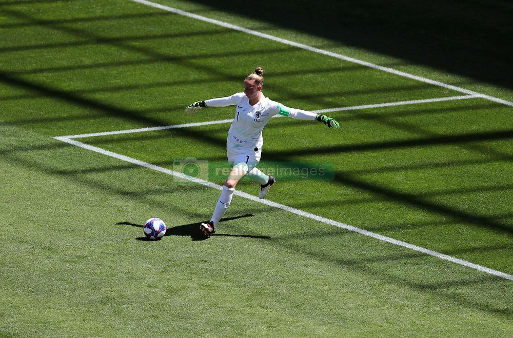 Netherlands goalkeeper Sari van Veenendaal