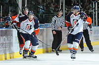 KELOWNA, CANADA, OCTOBER 29: Tyler Bell #6 of the Kamloops Blazers skates on the ice as the Kamloops Blazers visit the Kelowna Rockets  on October 29, 2011 at Prospera Place in Kelowna, British Columbia, Canada (Photo by Marissa Baecker/Shoot the Breeze) *** Local Caption *** Tyler Bell;