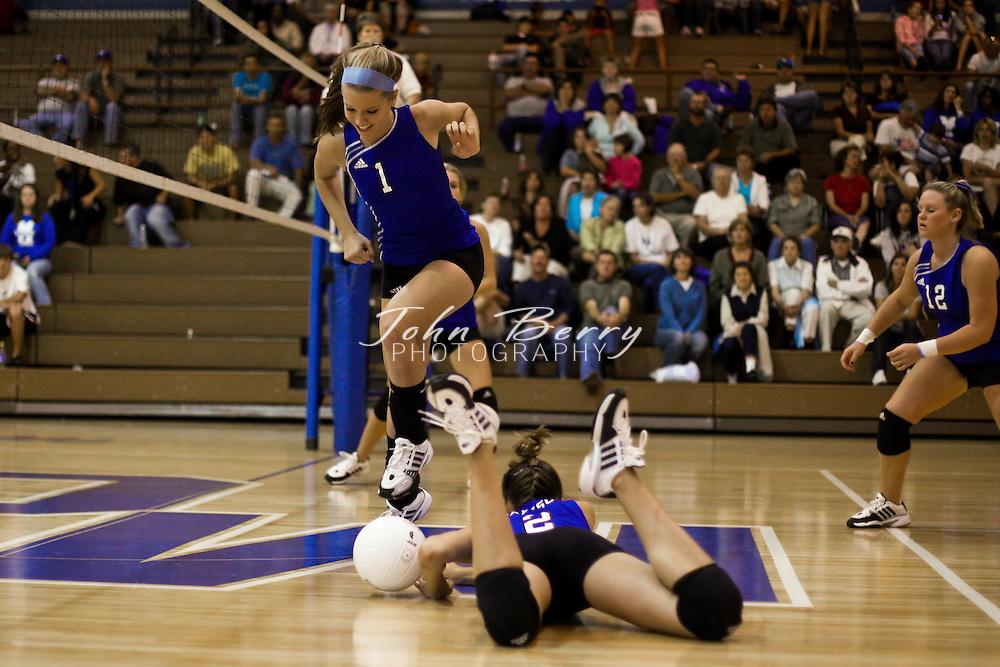 MCHS Varsity Volleyball .vs Luray.9/11/2008