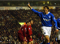 Fotball<br /> Premier League 2004/2005<br /> Foto: BPI/Digitalsport<br /> NORWAY ONLY<br /> <br /> 06/11/2004 Liverpool v Birmingham City<br /> <br /> Darren Anderton celebrates his winner