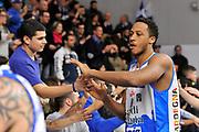 DESCRIZIONE : Beko Legabasket Serie A 2015- 2016 Dinamo Banco di Sardegna Sassari - Openjobmetis Varese<br /> GIOCATORE : Kenneth Kadji<br /> CATEGORIA : Ritratto Esultanza Postgame Ultras Tifosi Spettatori Pubblico<br /> SQUADRA : Dinamo Banco di Sardegna Sassari<br /> EVENTO : Beko Legabasket Serie A 2015-2016<br /> GARA : Dinamo Banco di Sardegna Sassari - Openjobmetis Varese<br /> DATA : 07/02/2016<br /> SPORT : Pallacanestro <br /> AUTORE : Agenzia Ciamillo-Castoria/C.Atzori
