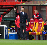 Dundee&rsquo;s interim manager Neil McCann - Motherwell v Dundee, Fir Park, Motherwell, Photo: David Young<br /> <br />  - &copy; David Young - www.davidyoungphoto.co.uk - email: davidyoungphoto@gmail.com