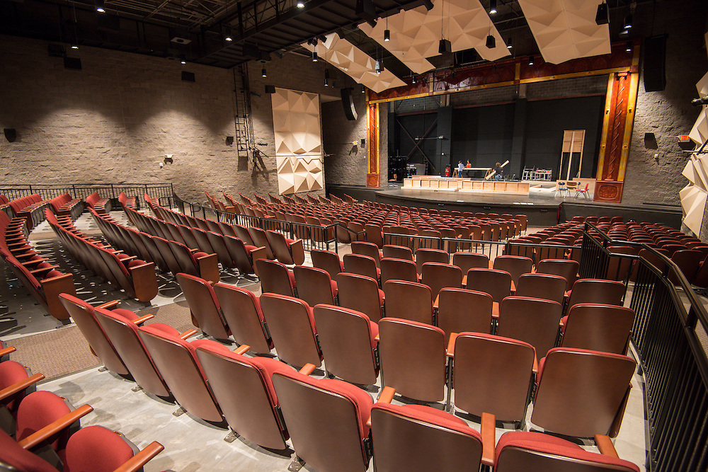The current High School for the Performing and Visual Arts auditorium.