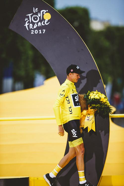 Described as his toughest Tour victory, Chris Froome was already contemplating his bid for a fifth. Photo: Iri Greco / BrakeThrough Media | www.brakethroughmedia.com