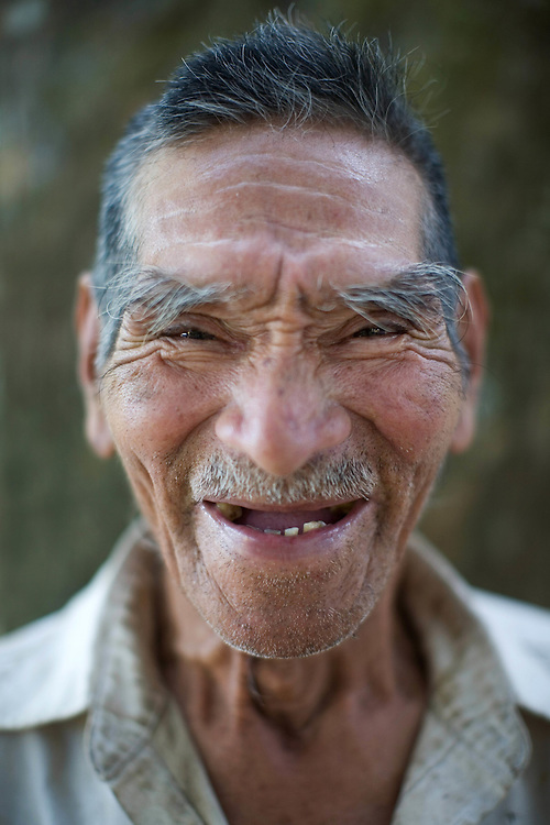 Bolivia. elderly farmer.