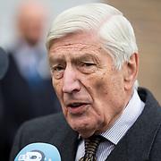 NLD/Rotterdam/20180220 - Herdenkingsdienst Ruud Lubbers, Dries van Agt