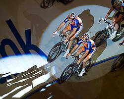 06-01-2012 WIELRENNEN: RABOBANK ZESDAAGSE: ROTTERDAM<br /> (L-R) Wesley Kreder, Melvin Boskamp<br /> (c)2012-FotoHoogendoorn.nl / Peter Schalk
